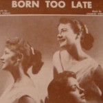 Born Too Late – The Poni- tails